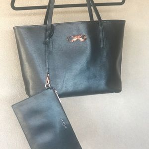 TED BAKER PURSE AND WRISTLET